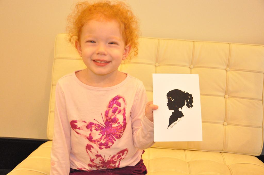 Autumn and her Silhouette by Cindi