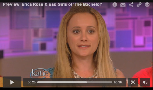 Erica Rose bachelorette video