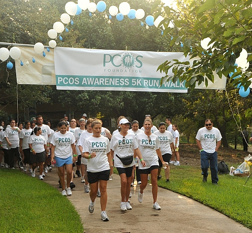 Amerejuve 2013 PCOS Awareness 5K Fun Run and Walk,