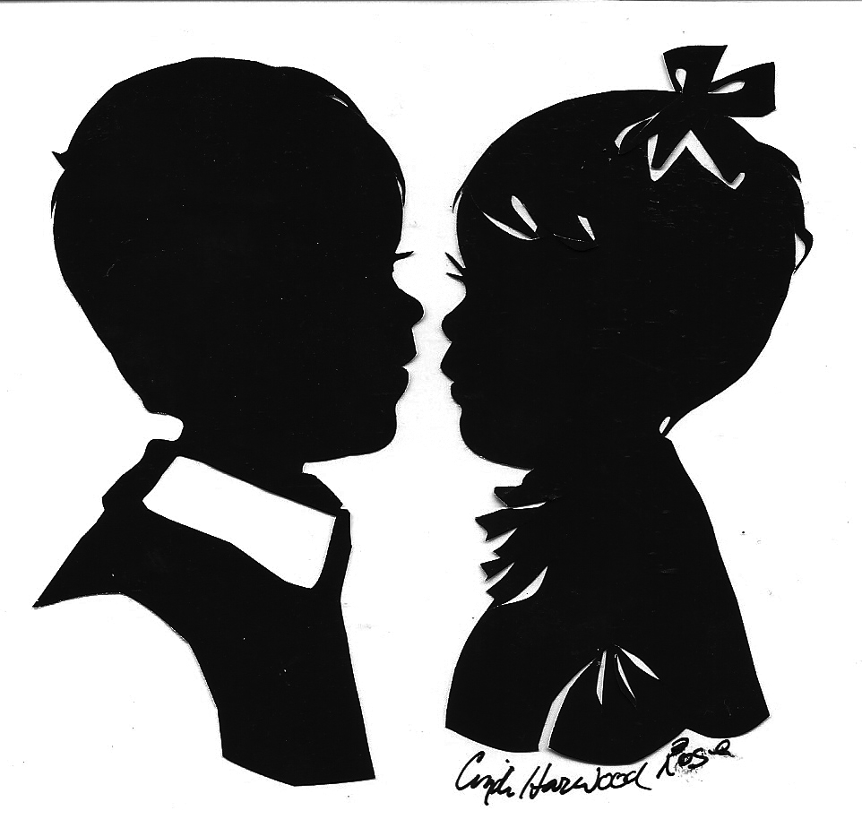 Silhouette Art by Cindi Rose
