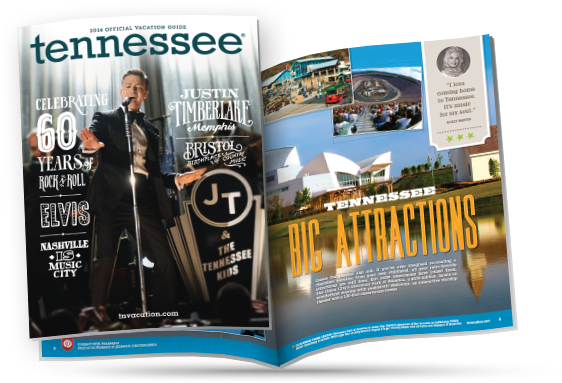 Cindi Rose as featured in the Tennessee Vacation Guide!
