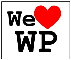 we love wordpress