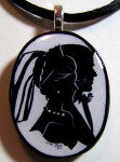 Wedding Silhouette Pendant