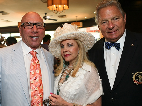 Dr. Franklin Rose, Carolyn Farb, Charles Ward Photo by Herb Hochman