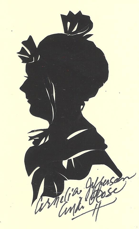 Cornelia Jefferson Silhouette