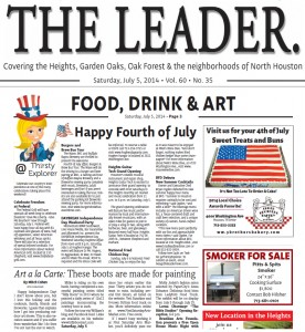 The Houston Heights Leader News