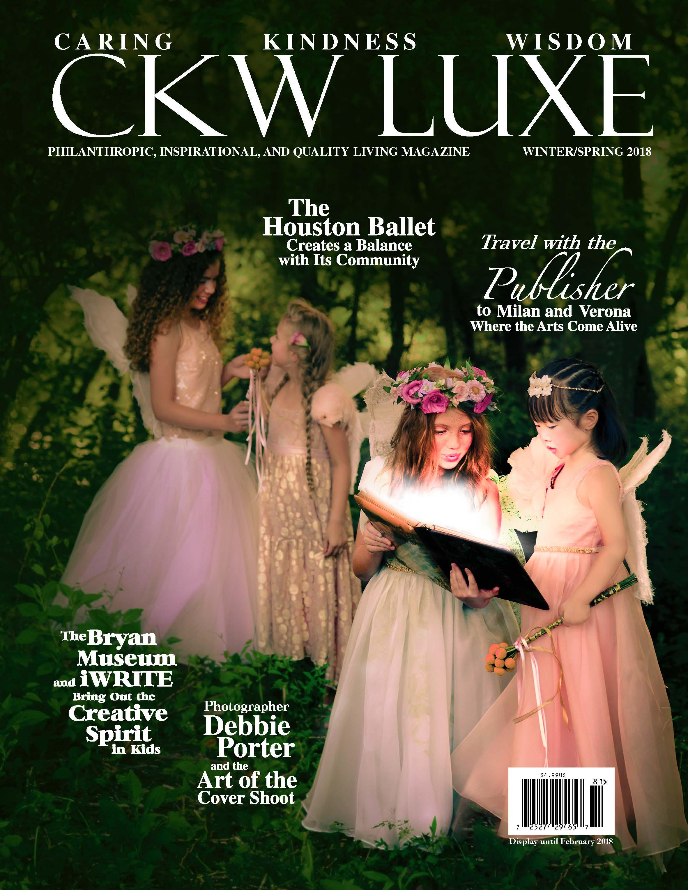 CKW LUXE MAGAZINE - 2018 Winter/Spring Edition