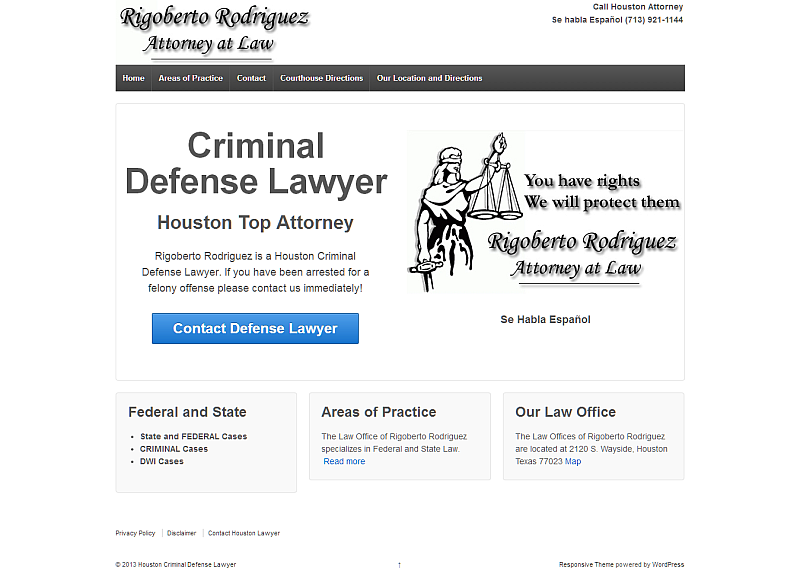 Rigoberto Rodriguez Attorney at Law, Houston