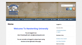 Handwriting University Membership Site, Los Angeles